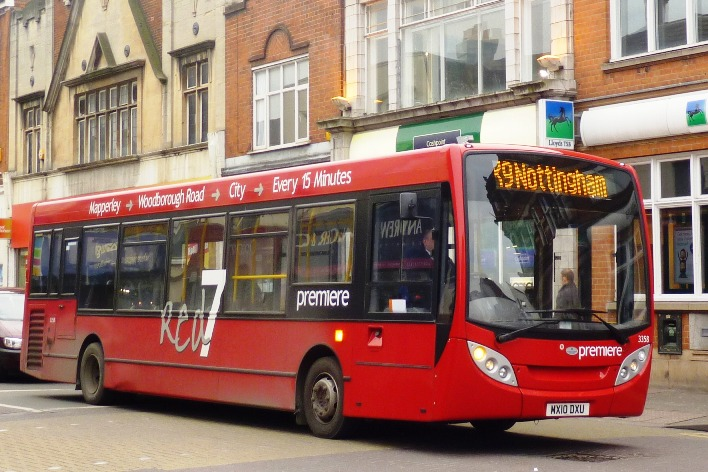 Premiere set to take over veolia nottingham bus and coach for Premier garage derby
